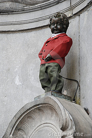Free Manneken Pis Stock Photo - 16653380