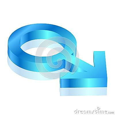Mannelijk pictogram