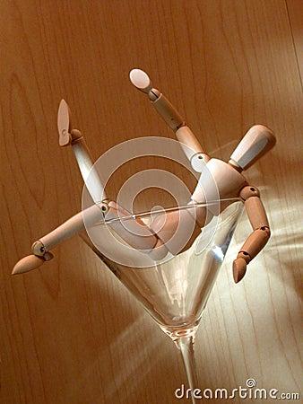 Free Mannequin 4 Drunk Stock Photos - 59873