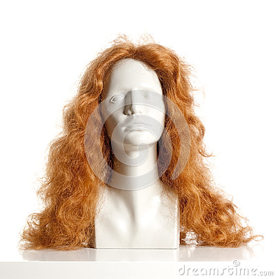 Free Mannequin Female Head With Wig Royalty Free Stock Photos - 78791268
