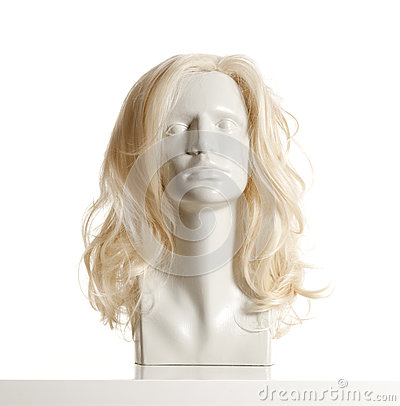 Free Mannequin Female Head With Wig Stock Photo - 80738230