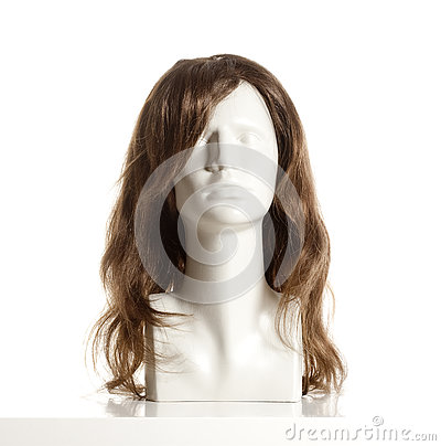 Free Mannequin Female Head With Wig Royalty Free Stock Images - 80738939