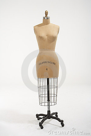 Free Mannequin Foward Royalty Free Stock Photography - 2681877