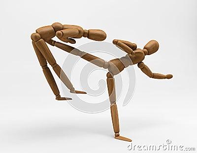 Mannequin Karate