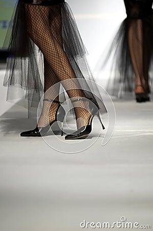 Mannequin legs Editorial Stock Image