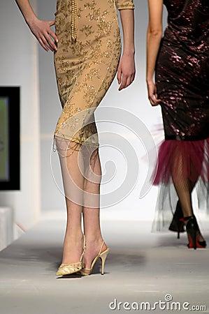 Mannequin sexy legs Editorial Stock Photo