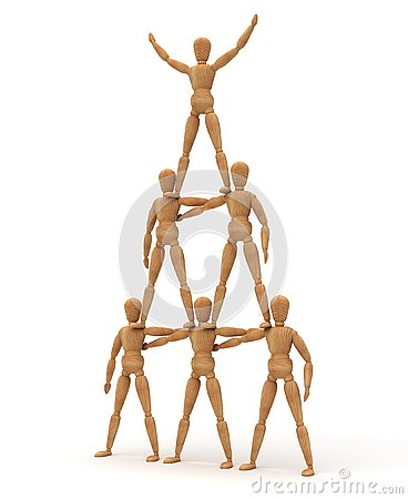 Free Mannequin Tower Stock Images - 130003164