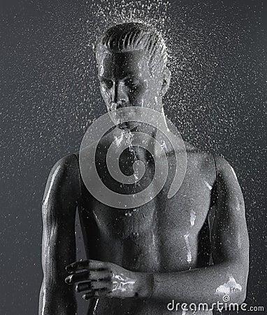 Mannequin underwater