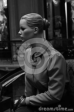 Mannequin woman