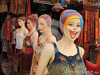 Mannequins in Bangkok