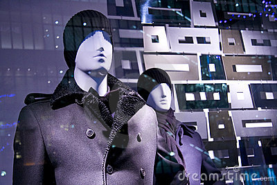 Mannequins model fashion store window sale