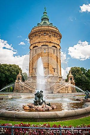 Free Mannheim Wasserturm Stock Images - 47291764
