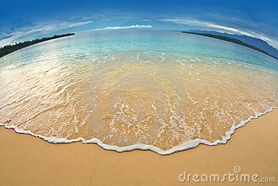 Manokwari beach