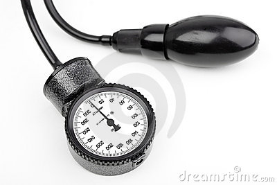Manometer for blood pressure isolated