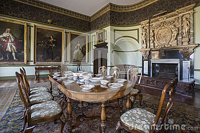 Manor House Yorkshire England Editorial Photography