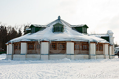 Manor of  Russian poet  18th century - Lermontov