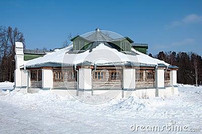 Manor of  Russian poet  18th century - Lermontov
