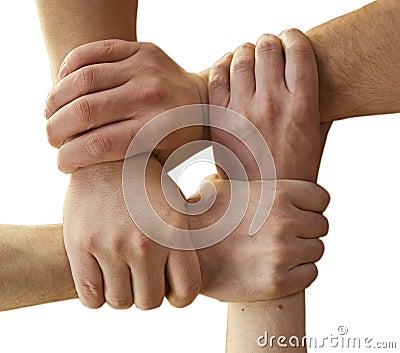 Manos de la solidaridad