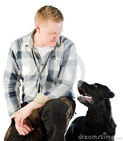 Free Mans Best Friend Royalty Free Stock Image - 24639266