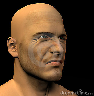 Mans Face 6