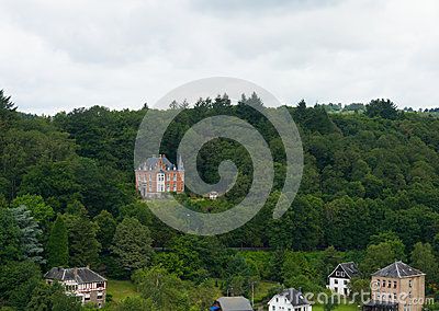 Mansion in the ardennes
