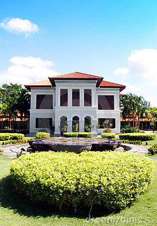 Mansion house landscaping - Istana Kampong Glam