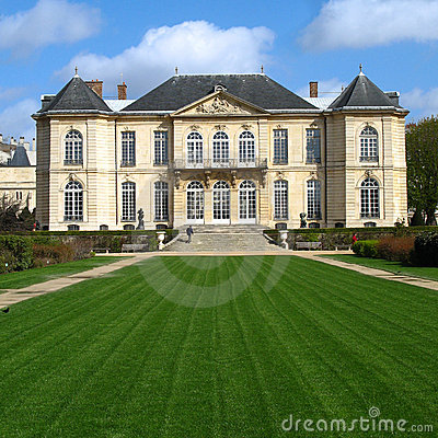 Free Mansion - Rodin Museum, Paris, France Stock Photo - 4942360