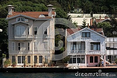 Mansions in Bosphorus Istanbul