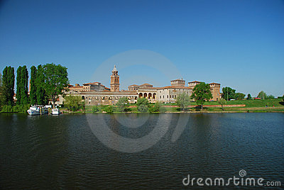 Mantova lake shore (Mantua), Italy