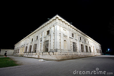 Mantova, Night view of Palazzo Te
