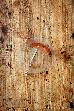 Manual corkscrew