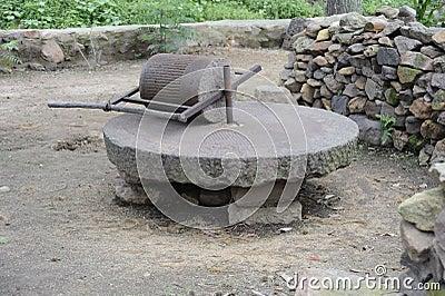 Manual grinding wheel