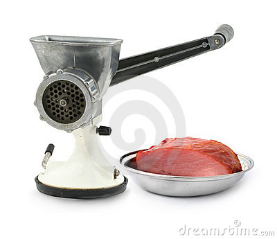 Manual mincer and juicy loin