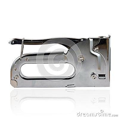 Manual staple gun