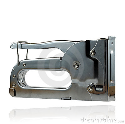 Manual staple gun
