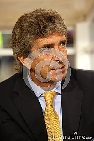 Manuel Pellegrini Editorial Stock Image