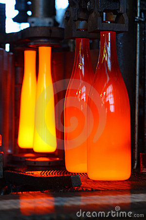 Free Manufacture Of Bottles Stock Photos - 4181833