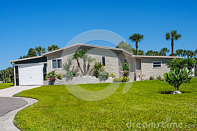 Manufactured  home in park comunity