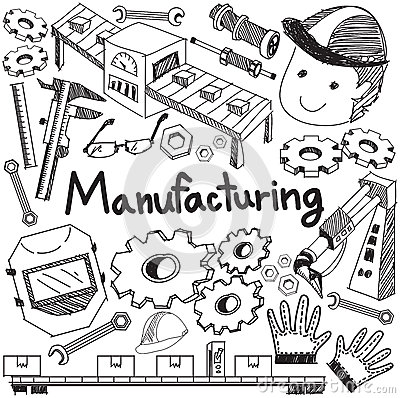 Free Manufacturing And Operation System In Factory Production Assembl Royalty Free Stock Photo - 66691675