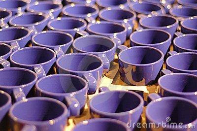 Manufacturing cups