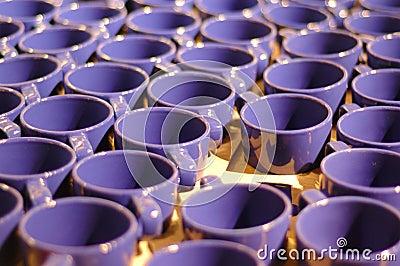 Manufacturing cups