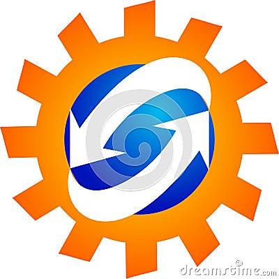 Manufacturing process logo