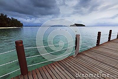 Manukan Island at Borneo, Sabah, Malaysia