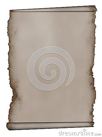Manuscript, aged scroll grunge paper background