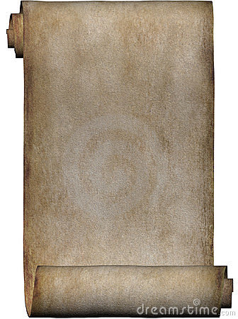 Free Manuscript, Roll Of Parchment Stock Images - 505424