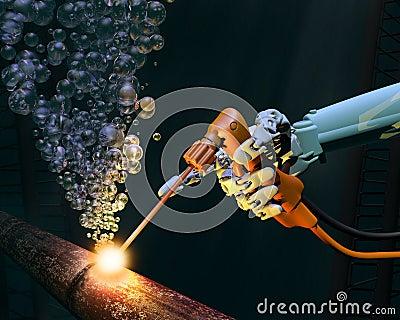Manutenzione del mare profondo