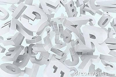 Many 3d fonts