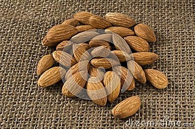 Many almonds
