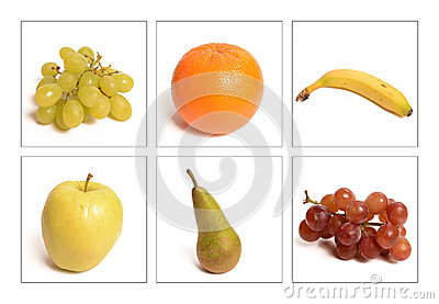 Many Assorted Whole Fruits