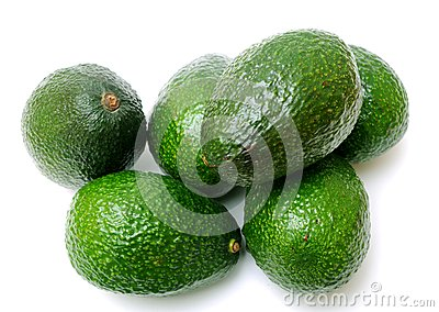 Many avocadoes